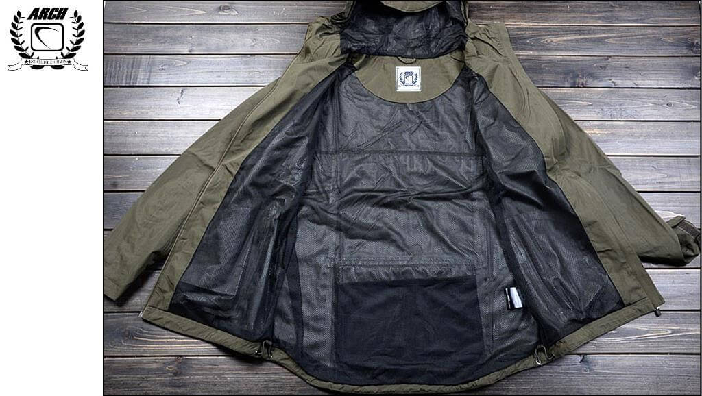 New From ARCH: ARCH Incognito Waterproof Tech Jacket