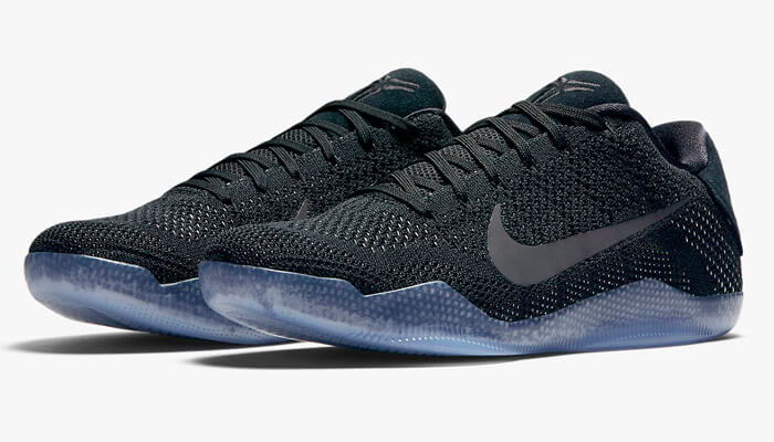 100% Authentic, brand new in the black and white Kobe box is the Black  Space XI colorway. Featuring a shimmering black Flyknit upper and an icy  translucent ...