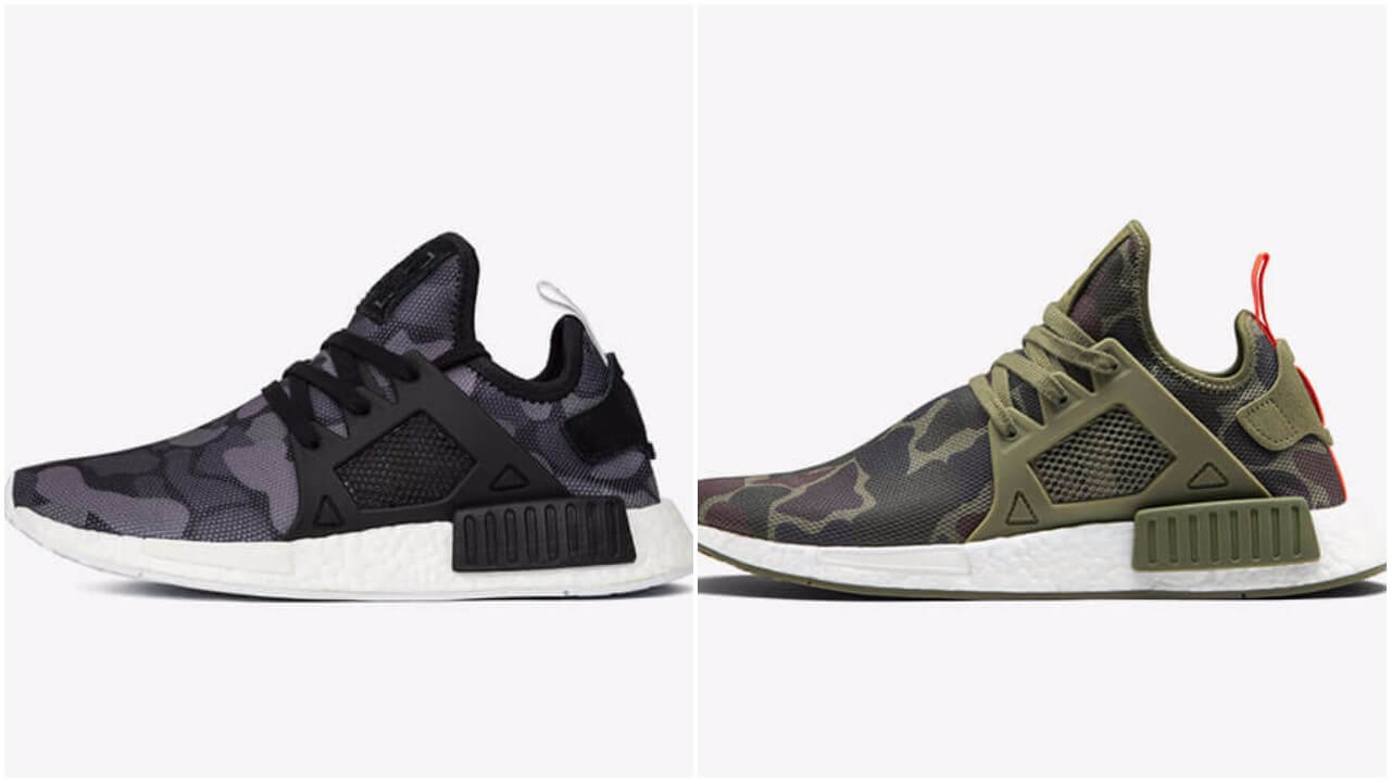 e0a6b7e21 New In Adidas Canada NMD XR1 Duck Camo Olive Womens Adidas