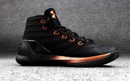 77752c262614 The Under Armour UA Curry 3 Copper 3M Is Next