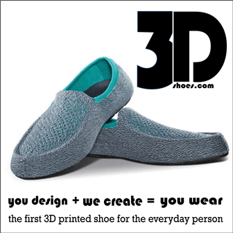3DShoes.com: The First 3D Printed Shoe For the Everyday Person