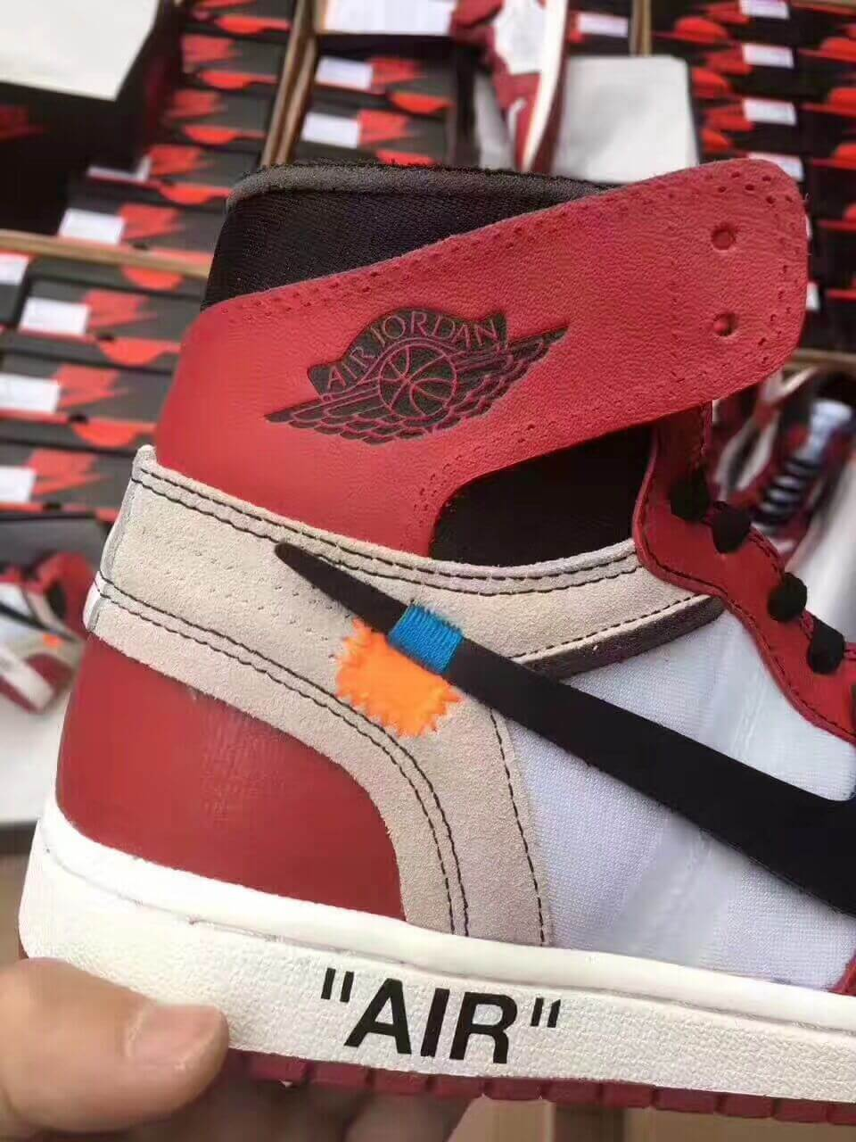 Don't Get Got: Taobao Special Fake Off White Air Jordan 1 Are