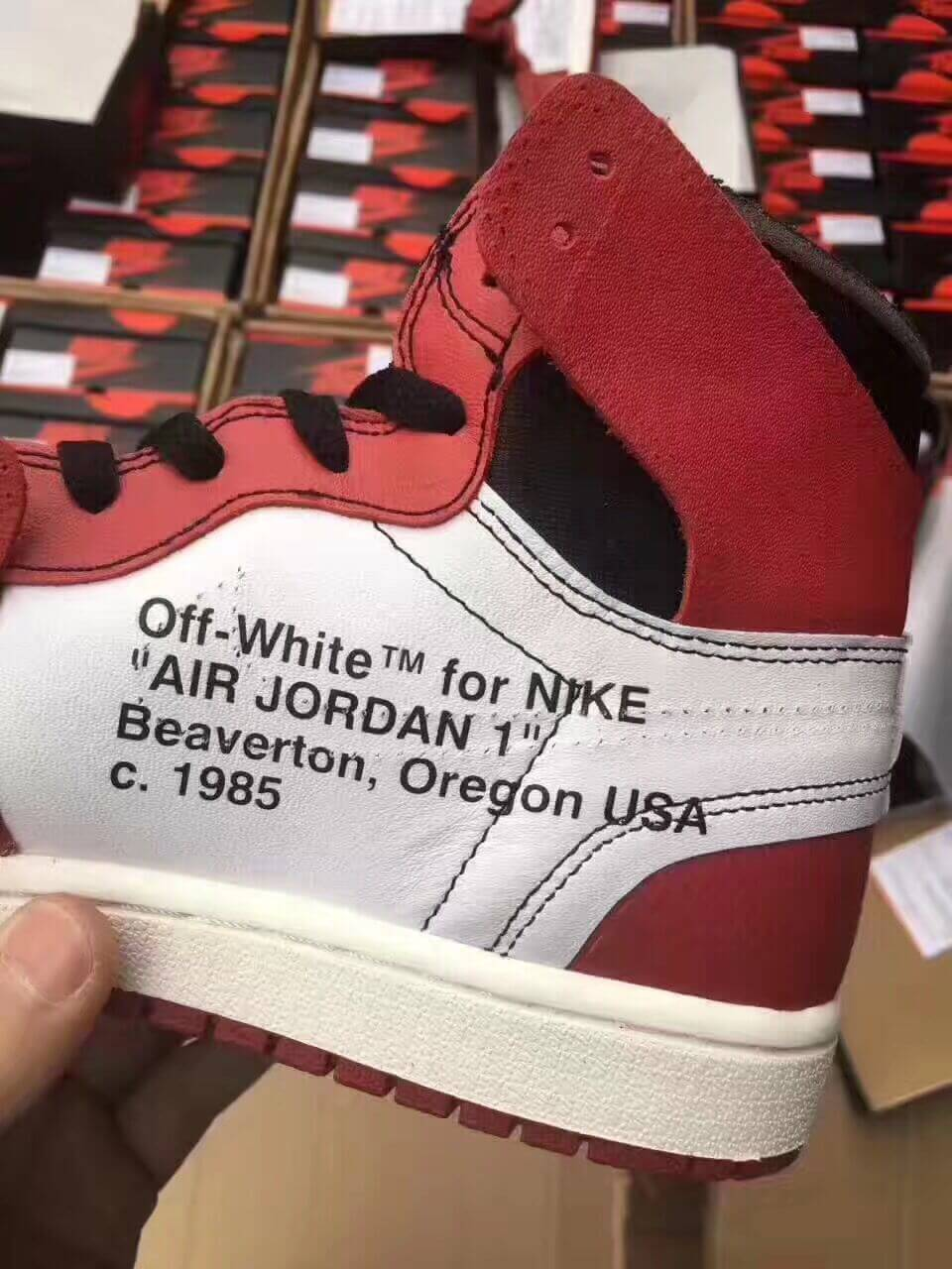 many fashionable brand new classic style Don't Get Got: Taobao Special Fake Off White Air Jordan 1 ...
