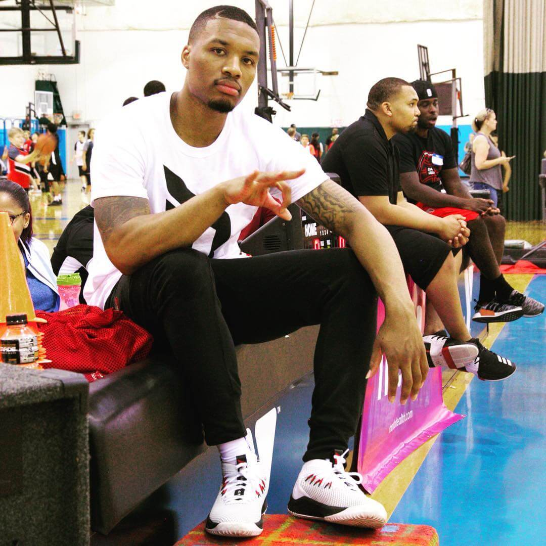 Check Out The New Damian Lillard Adidas Dame 4 Sneakers