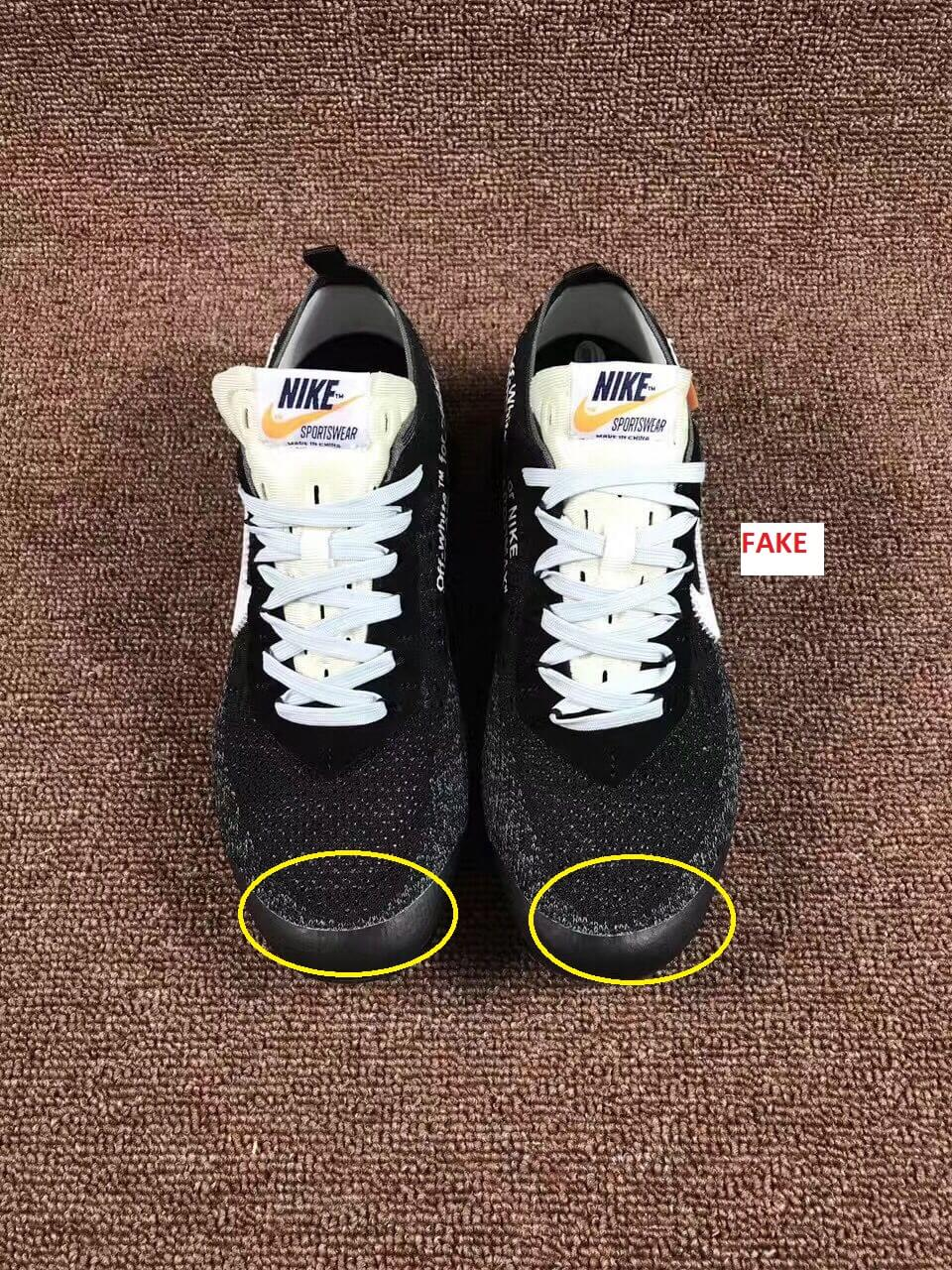 new arrivals authentic quality buy online Scary Good Fake Off White Nike Air Vapormax Sneakers Are On ...