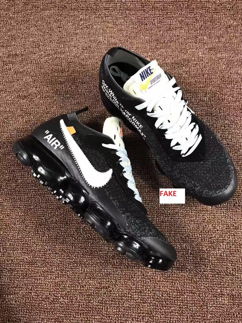 Scary Good Fake Off White Nike Air Vapormax Sneakers Are On