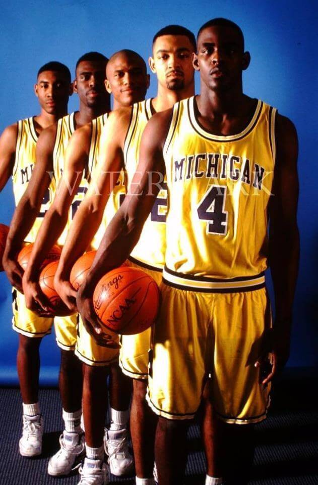 Image result for fab five michigan