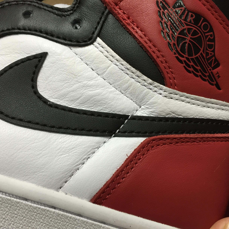 An Early Look At The Air Jordan 1 Retro High Black Toe – ARCH-USA 1fea3347d