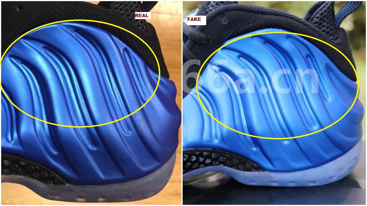Quick Tips To Identify The Fake Foamposite One Royal OG XX ...