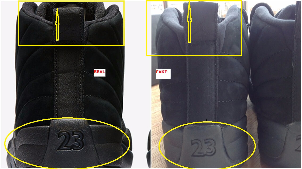 on sale 35761 d9d5f How To Spot The Fake Black Air Jordan 12 OVO – ARCH-USA