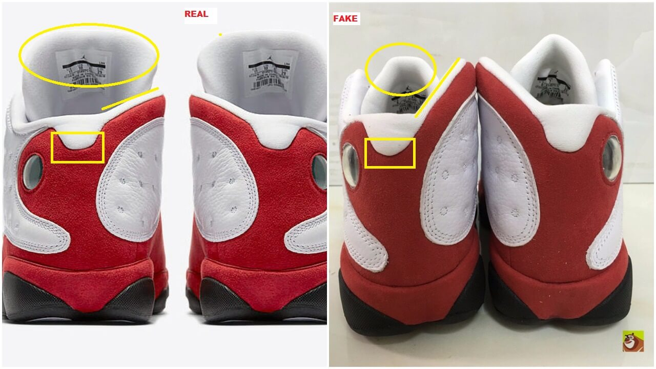 sale retailer 58727 13204 Here Is How You Can Bust The Fake Air Jordan 13 Cherry Bulls ...