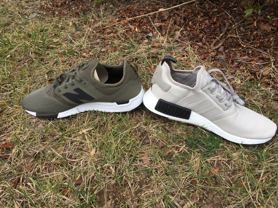 new balance 247 sport in olive