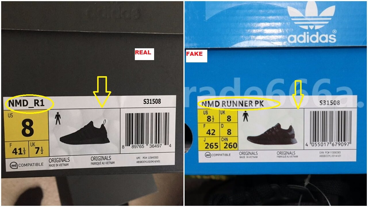 how to know if nmd are fake