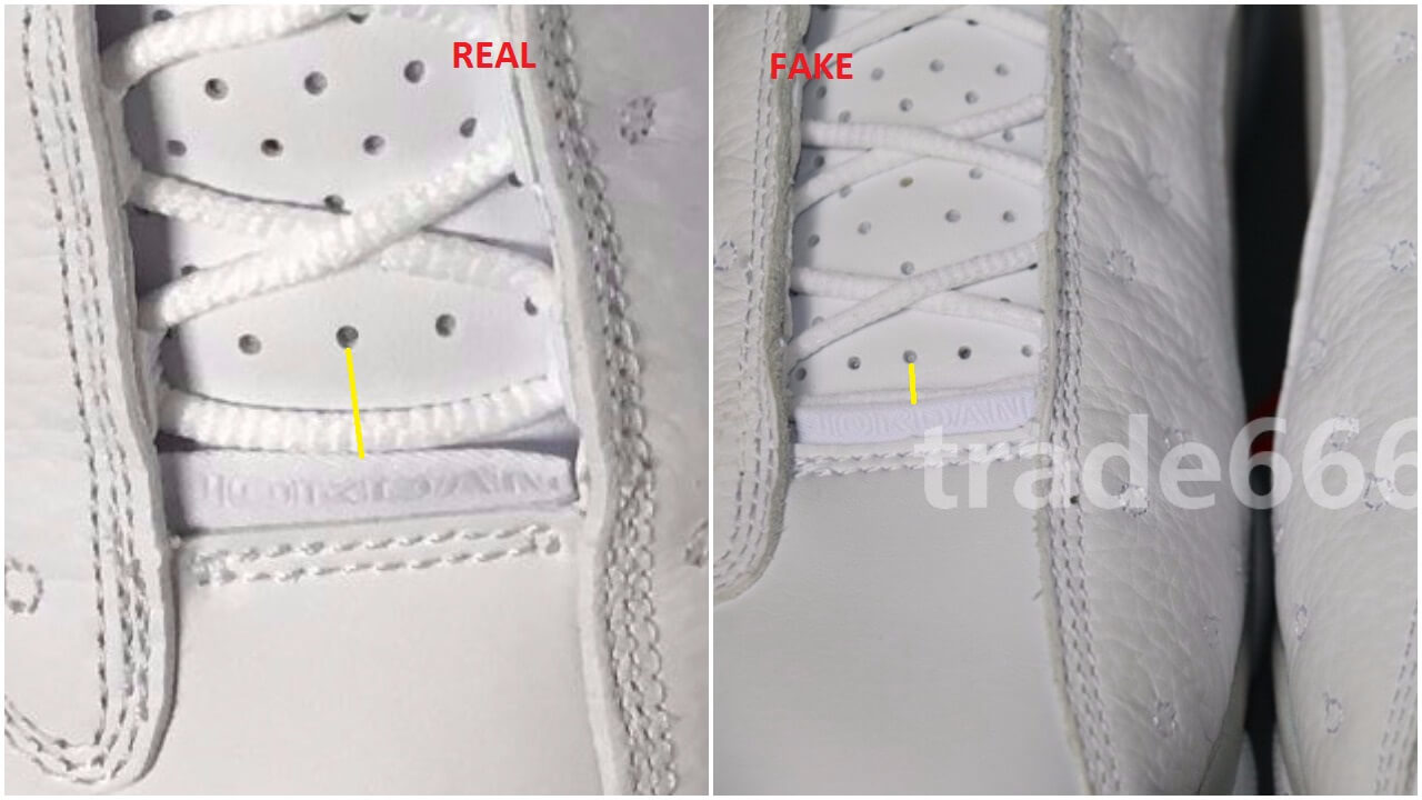 Quick Tips To Identify The Fake Air Jordan 13 Low Pure Money – ARCH-USA 079931e29
