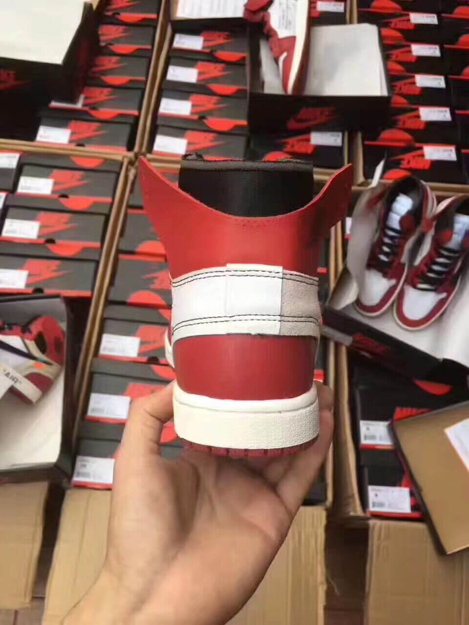 91d0e0cac18 Don t Get Got  Taobao Special Fake Off White Air Jordan 1 Are ...