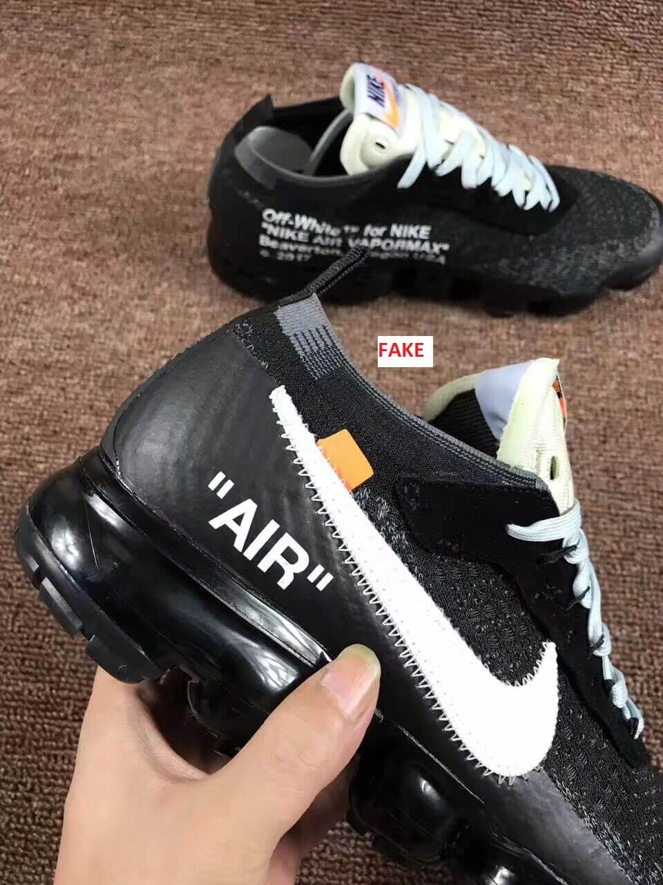 Scary Good Fake Off White Nike Air Vapormax Sneakers Are On The ...