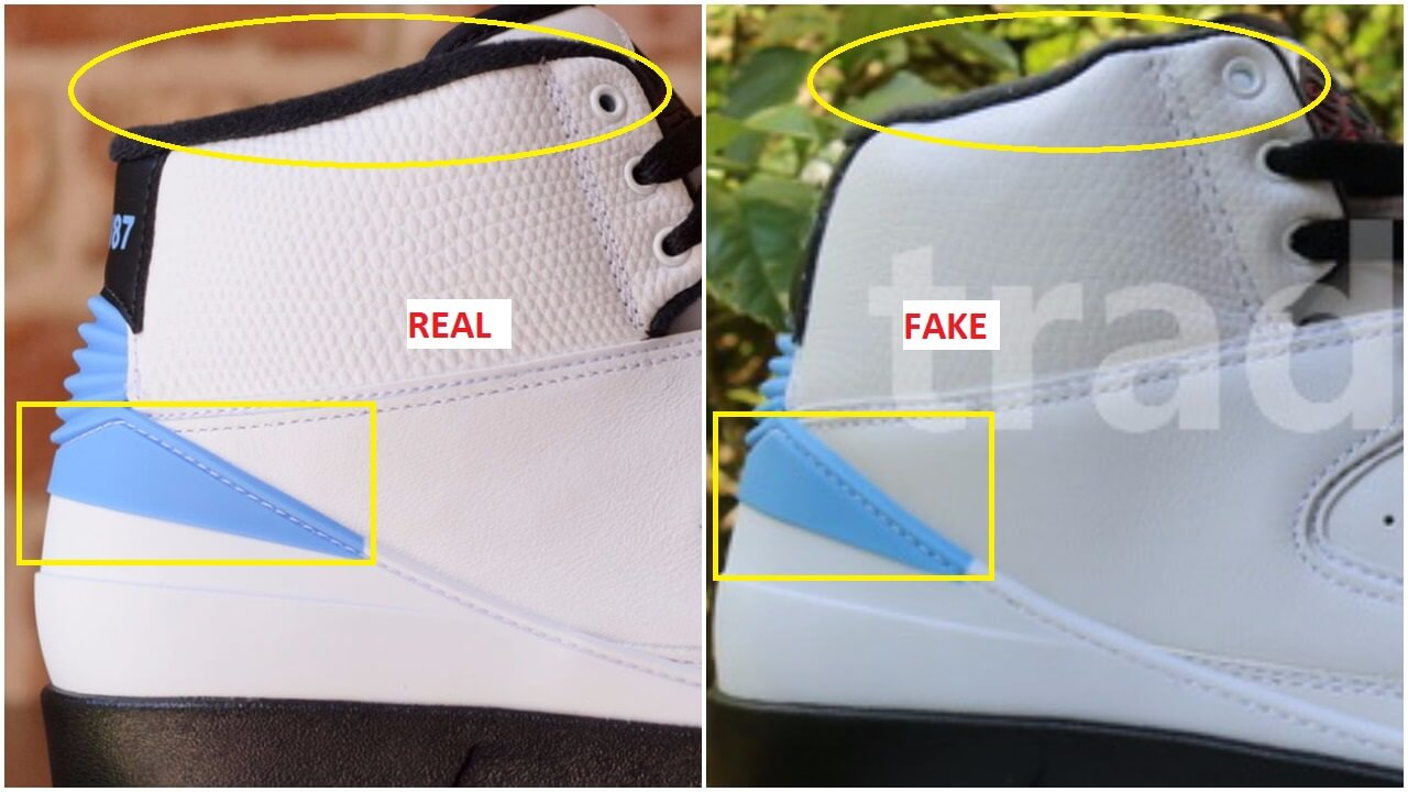 Fake Air Jordan 2 UNC Converse Pack Spotted -Quick Tips To Identify ... e2be612ae