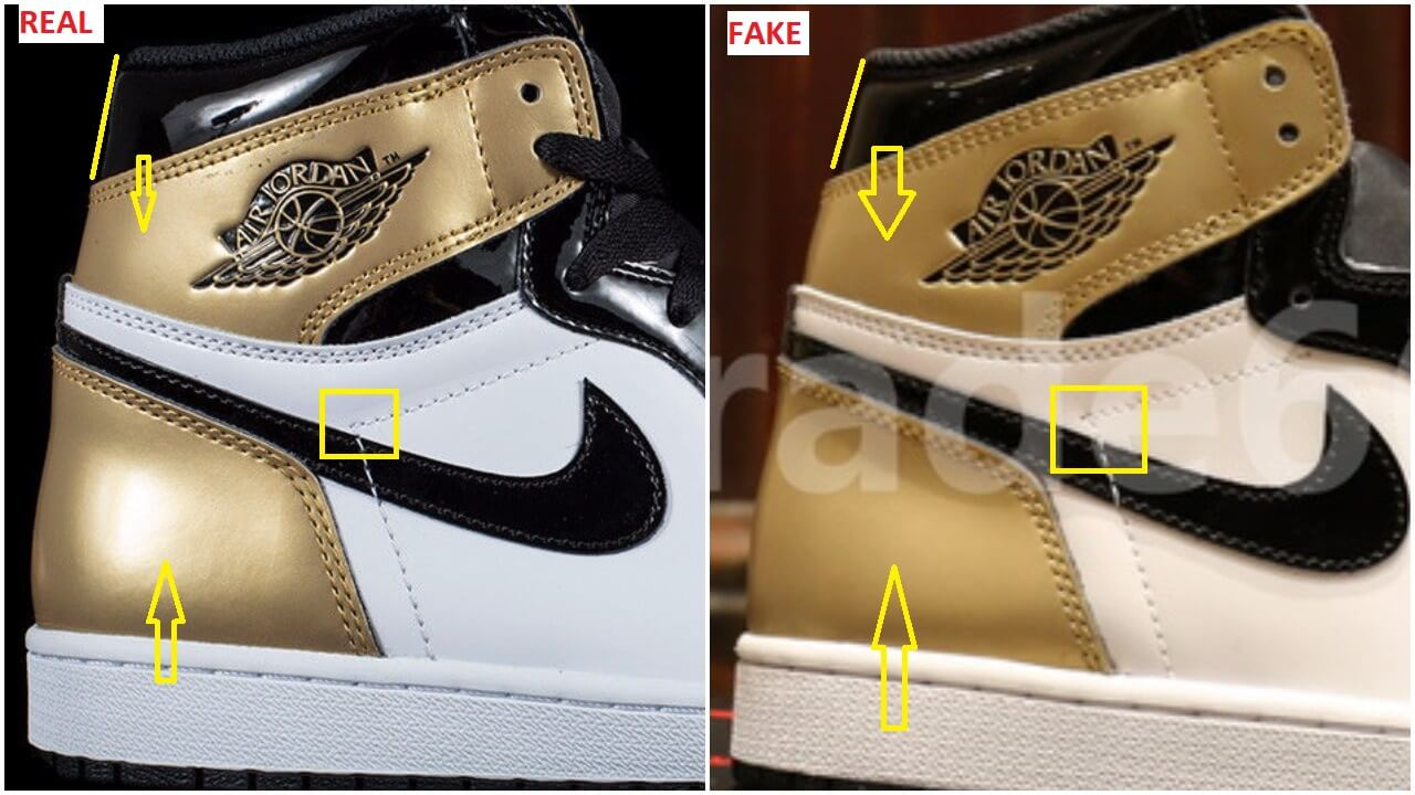 The Fake Air Jordan 1 Gold Top 3 Complexcon Is Out 439b6c384