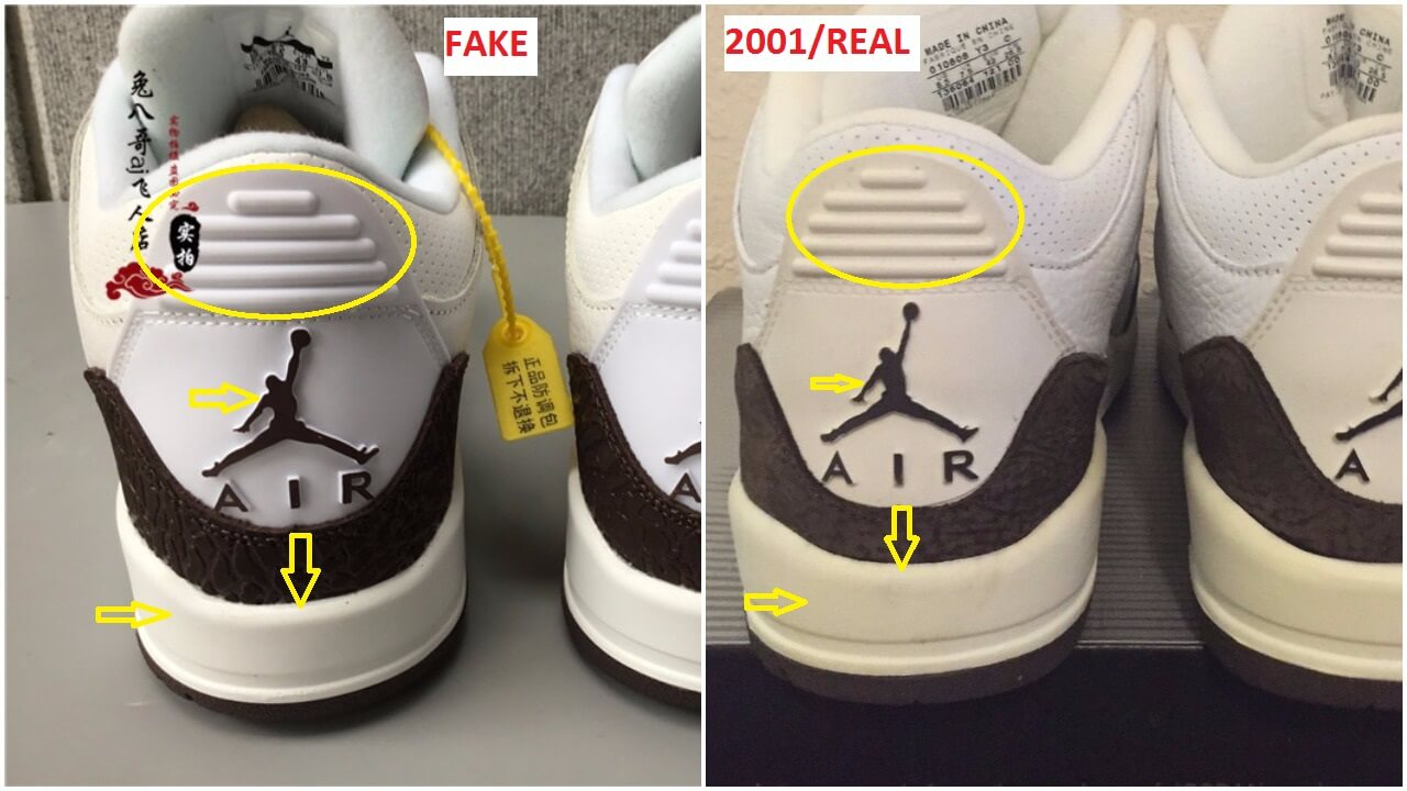 e8770ecc0ed81 ... Air Jordan 3 OG True Blue Real VS Fake Facebook I know some folks will  argue with me about the slides above based on the fact ...